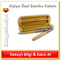 Kişiye Özel Bambu Kalem
