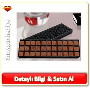 Sütlü Harf Çikolata