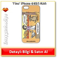 Selçuk Erdem 'Fino' iPhone 4/4S/5 Kılıfı
