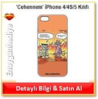 'Cehennem' iPhone 4/4S/5 Kılıfı