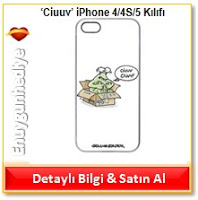 'Ciuuv' iPhone 4/4S/5 Kılıfı