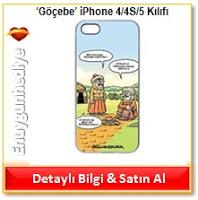 Selçuk Erdem 'Göçebe' iPhone 4/4S/5 Kılıfı