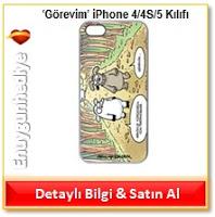 Selçuk Erdem 'Görevim' iPhone 4/4S/5 Kılıfı