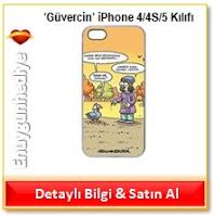 Selçuk Erdem 'Güvercin' iPhone 4/4S/5 Kılıfı