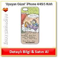 'Uyuyan Güzel' iPhone 4/4S/5 Kılıfı