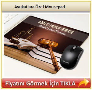 Avukatlara Özel Mousepad