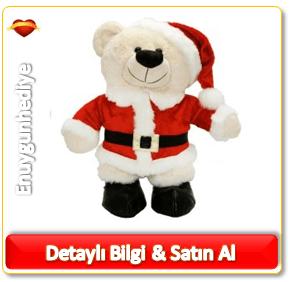 Noel Baba Peluş Ayıcık Oyuncak