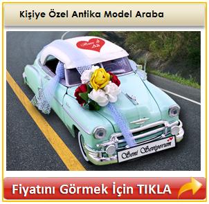 Kişiye Özel Antika Model Araba