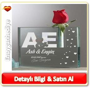 Sevgililer günü için romantik hediye