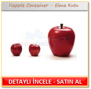 Happle Container - Elma Kutu