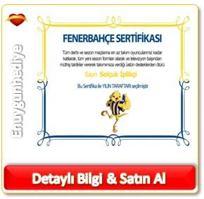 Fenerbahçe Taraftar Sertifikası
