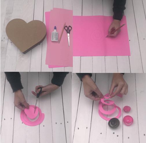 Sevgiliye romantik hediye kutusu