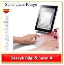 Sanal Lazer Klavye