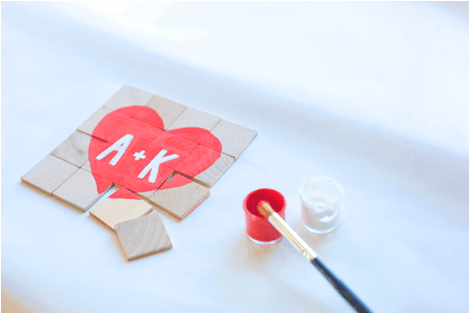 Valentine's Day Message Puzzle | DIY Valentine Gifts You Can Make In Under An Hour | diy valentine gifts