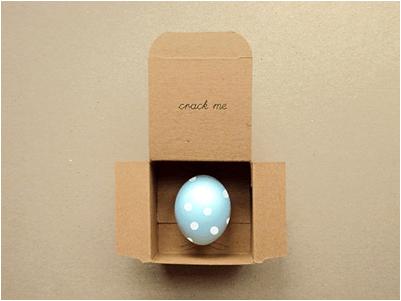 el yapımı yumurta hediyesi