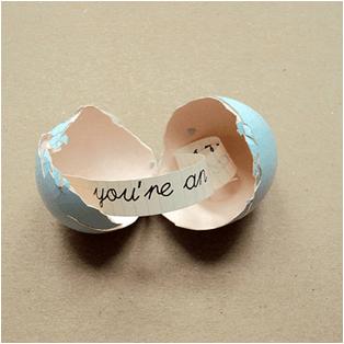 sevgiliye sürpriz yumurta sürprizi