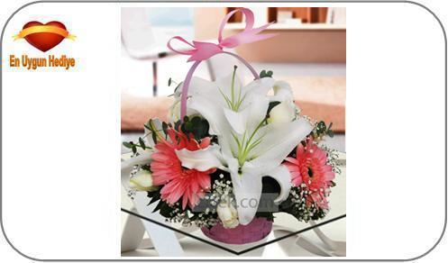 öğretmene hediye çiçek