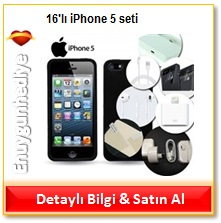 16'lı iPhone 5 seti