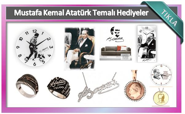 Atatürk hediye ürünler
