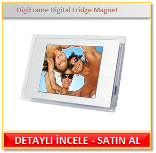 DigiFrame Digital Fridge Magnet