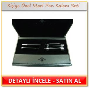 Kişiye Özel Orijinal Steel Pen Kalem Seti