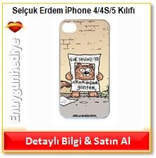 Selçuk Erdem Arkadaşına Gönder iPhone 4/4S/5 Kılıfı