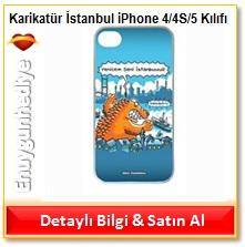 İstanbul iPhone 4/4S/5 Kılıfı