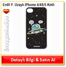 Erdil Yaşaroğlu Uzaylı iPhone 4/4S/5 Kılıfı