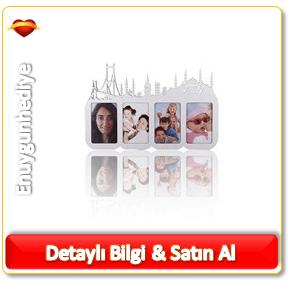 İstanbul Siluetli Çerçeve