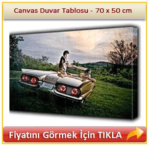 Canvas Duvar Tablosu - Fotoğraf Giydirme - 70 x 50 cm