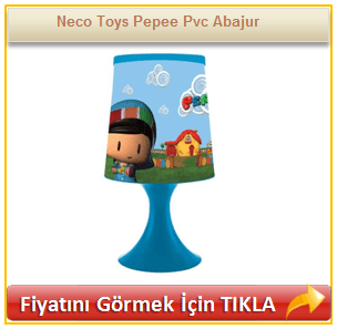 Neco Toys Pepee Pvc Abajur
