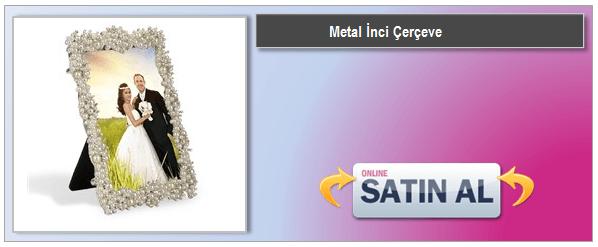 Metal İnci Çerçeve