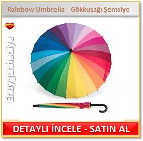 Rainbow Umbrella - Gökkuşağı Şemsiye