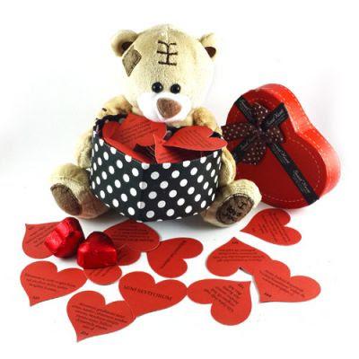 Sevgiliye özel hediye sepeti