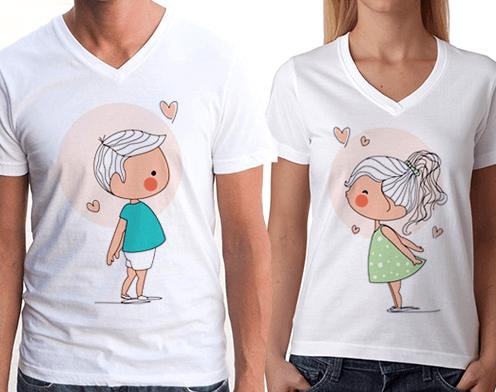 Sevgili Tişörtleri