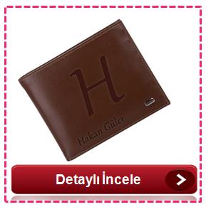 Kişiye özel isim yazılı cüzdan