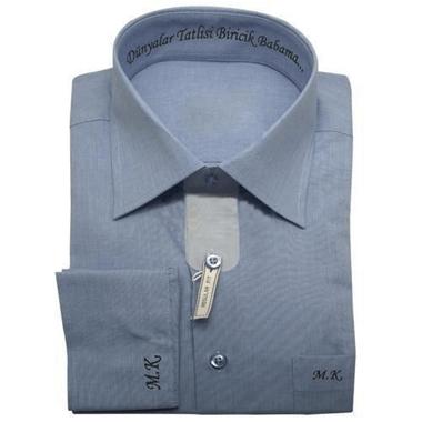 Kişiye Özel Nakışlı Gömlek Özel Üretim