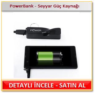 PowerBank - Seyyar Güç Kaynağı