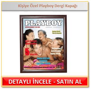 Kişiye Özel Playboy Dergi Kapağı