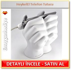 Heykel El Telefon Tutucu