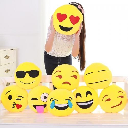 hediyelik emoji yastıklar