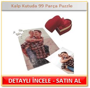 Kalp Kutuda 99 Parça Puzzle