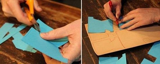 adım adım cüzdan yapımı