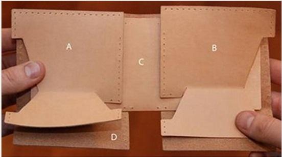 hediyelik el yapımı deri cüzdan