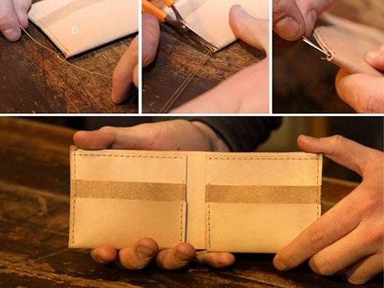 cüzdan nasıl yapılır