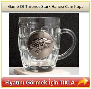 Game Of Thrones Stark Hanesi Cam Kupa