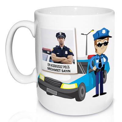 polise hediye kupa bardak