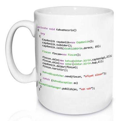 Programcılara Özel Kupa Bardak