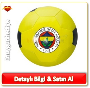 Fenerbahçe Lisanslı Sünger Futbol Topu Küçük