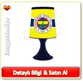 Fenerbahçe Lisanslı Vazo Abajur